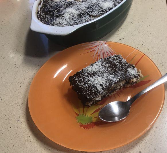 Tarta de galletas de la abuela o Maripepa