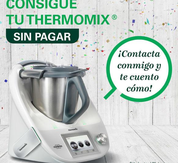 ¿Quieres conseguir tu Thermomix® TM5 GRATIS?