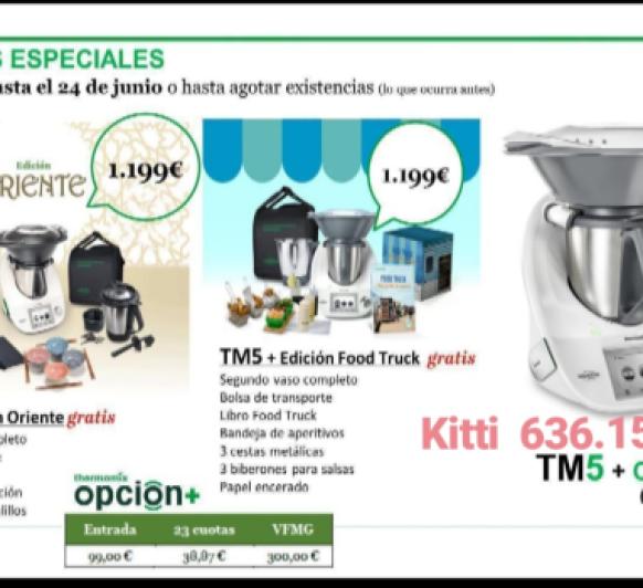 Aprovéchate de las EDICIONES ESPECIALES TM5 Thermomix®