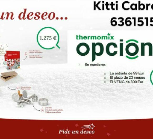 Thermomix® ED. PIDE UN DESEO ESTA NAVIDAD ... OPCIÓN+