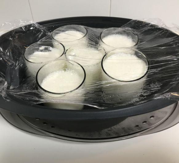 Yogur natural en Varoma