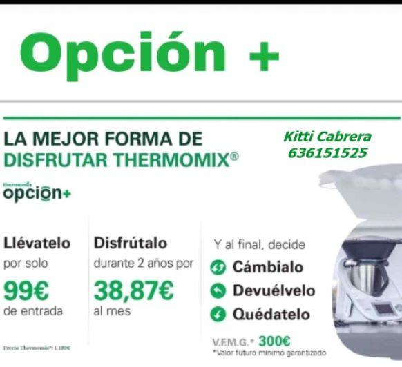 thermomix OPCIÓN +