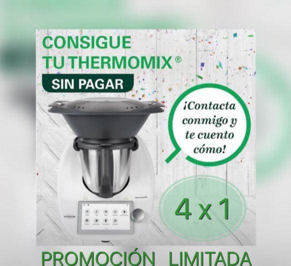 CONSIGUE UN Thermomix® GRATIS!!!