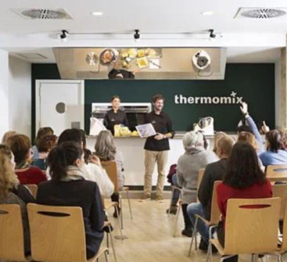 Clases, demos y talleres de cocina Thermomix®