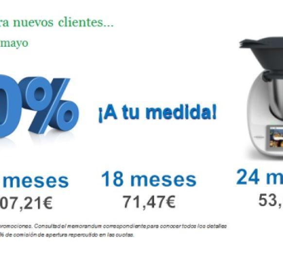 FINANCIACIÓN 0% INTERESES Y A MEDIDA