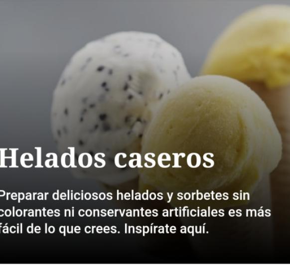 HELADOS CASEROS Thermomix®